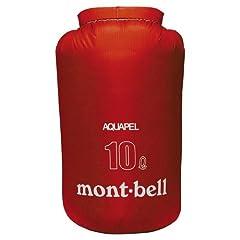 モンベル(mont-bell) アクアペル スタッフバッグ10L ホットレッド