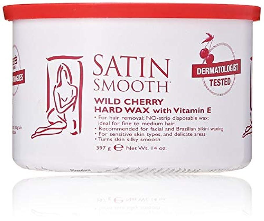 空のエンドウセーブSatin Smooth Wild Cherry Hard Wax with Vitamin E, 14 oz. 141[並行輸入]