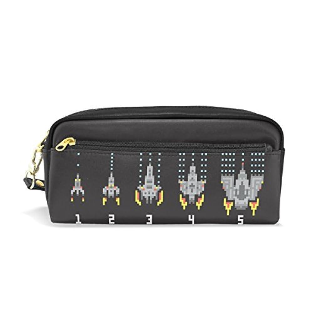ファウルばかげているにぎやかAOMOKI ペンケース ペンポーチ おしゃれ かわいい 大容量 高校生 シンプル ボックス 筆箱 筆入れ 文具 学生用 ペンバッグ 化粧バッグ