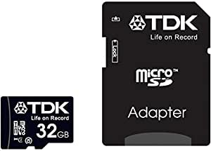 【Amazon.co.jp限定】TDK microSDHCカード 32GB Class10 UHS-1対応 最大転送速度30MB 5年保証 Newニンテンドー3DS動作確認済み MCSDHC10UV-32G-FFP (FFP)