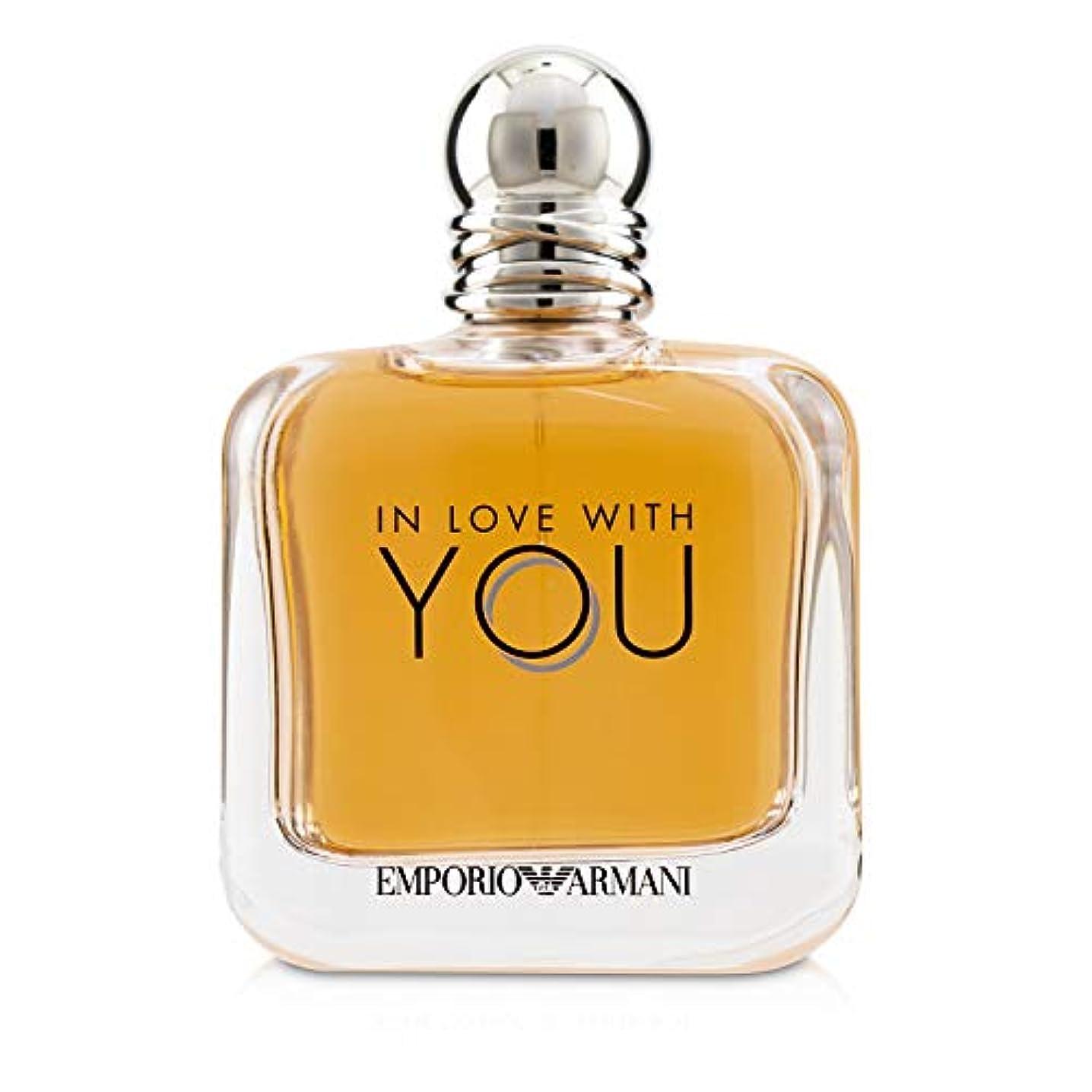 予見する鮫精神的にジョルジオ アルマーニ Emporio Armani In Love With You Eau De Parfum Spray 150ml/5oz並行輸入品