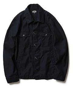 Cotton Short CPO Jacket 11-11-3297-139: Navy