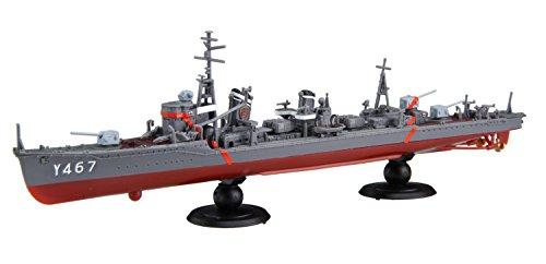 フジミ模型 艦NEXTハイスクール・フリートシリーズ No.3 陽炎型 航洋直接教育艦 晴風・最終形態&陽炎型・浜風or舞風 2隻セット 1/700スケール 色分け済みプラモデル
