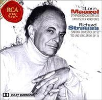 R.シュトラウス:家庭交響曲&死と変容
