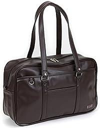 ELLE CLASSE (エルクラス) 合皮スクールバッグ 2018年モデル 1ルーム A4 通学鞄 EL429