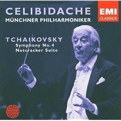 チェリビダッケ指揮 チャイコフスキー交響曲第4番&組曲《くるみ割り人形》の商品写真