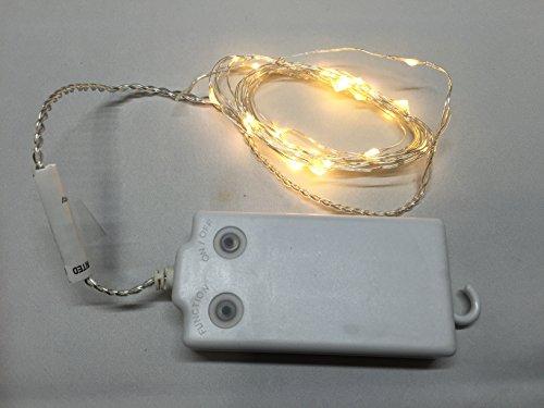 RoomClip商品情報 - エムサーブ イルミネーション LED ライト 30灯 3メートル 暖白 ウォームホワイト 乾電池式 タイマー 防水 機能付き