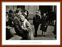 ポスター パベル カシーン Tendresse Leningrad 1984 額装品 ウッドハイグレードフレーム(ナチュラル)