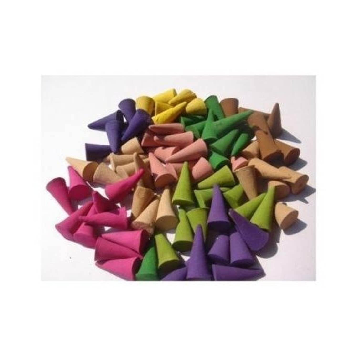 インシデントアーネストシャクルトン成功したIncense Cones Mixed Variety of Scents (Pack of 100 Cones) Thailand Product by Siam