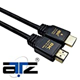 ATZ 2m HDMI Cable 8k HDMI v2.1 Ultra High Speed 8K@120Hz 48Gbps HDMI Cable 2.1 with Ethernet - 2 meter