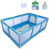 ベビーサークル 10パネルの赤ちゃんプレイペンポータブルプレイヤー屋内子供のゲームフェンス幼児フェンスホームセキュリティフェンス200ボール (色 : Style1)