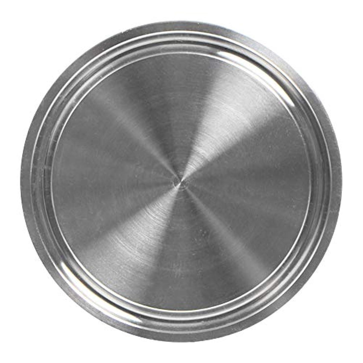親密な平行部分的Profeel 新しいステンレススチール製ソリッドサニタリーエンドキャップは2インチのトライクランプフェルールフランジに適合