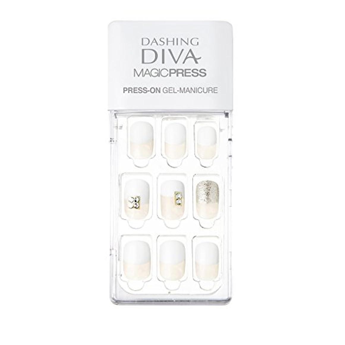ダッシングディバ マジックプレス DASHING DIVA MagicPress MDR129-DURY+ オリジナルジェル ネイルチップ