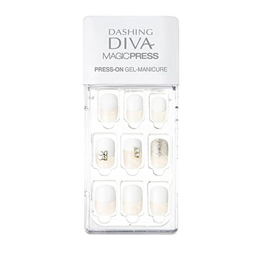 落胆させる関連付ける有用ダッシングディバ マジックプレス DASHING DIVA MagicPress MDR129-DURY+ オリジナルジェル ネイルチップ