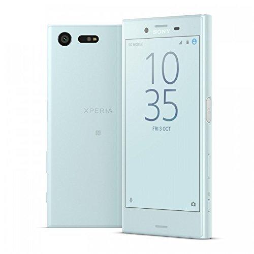 Sony Xperia X Compact ミントブルー F...