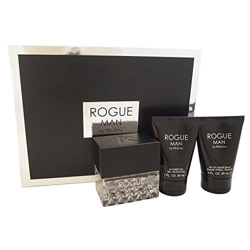 Rogue Man For Men By Rihanna Gift Set [並行輸入品]
