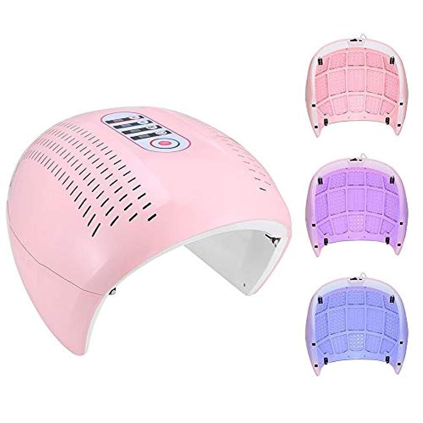 バーマド出力ドラフト健康な皮膚と顔の美化のための美容機プロフェッショナル4 in 1 PDTスキンケアデバイス(米国のプラグ)