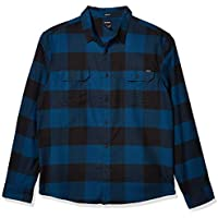 Dickies Mens WL654 Long Sleeve Flex Flannel Woven Shirt Long Sleeve Shirt - Multi