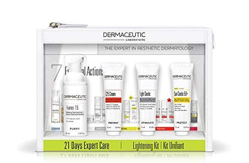 タップ影響するダンプダーマシューティック 21デイエキスパートケアキット?ライトニング[ヤマト便] (Dermaceutic) 21 Days Expert Care Kit Lightening
