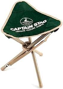 キャプテンスタッグ(CAPTAIN STAG) チェア CS 三脚 チェア グリーン M-3876