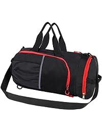 スポーツバッグ 旅行バッグ 軽量 ショルダバック フィットネス バッグ 折り畳みボストンバッグ 大容量 防水ナイロントート機能3wayリュック型可能