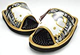 サンリオ ハローキティ SA-04151 HELLO KITTY 健康サンダル スリッパ レディース 婦人 靴 (L(約24~24.5cm), ゴールド)
