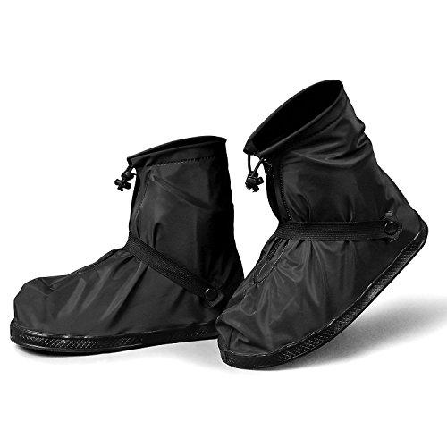 YMTECH シューズカバー 防水 携帯可 ブーツ 雪 雨 ...