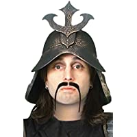 Forum Novelties 男性の人間の髪の毛の戦士口ひげ