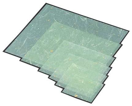 MIN(マイン ) 金箔紙ラミネート 緑 (500枚入) M33-467