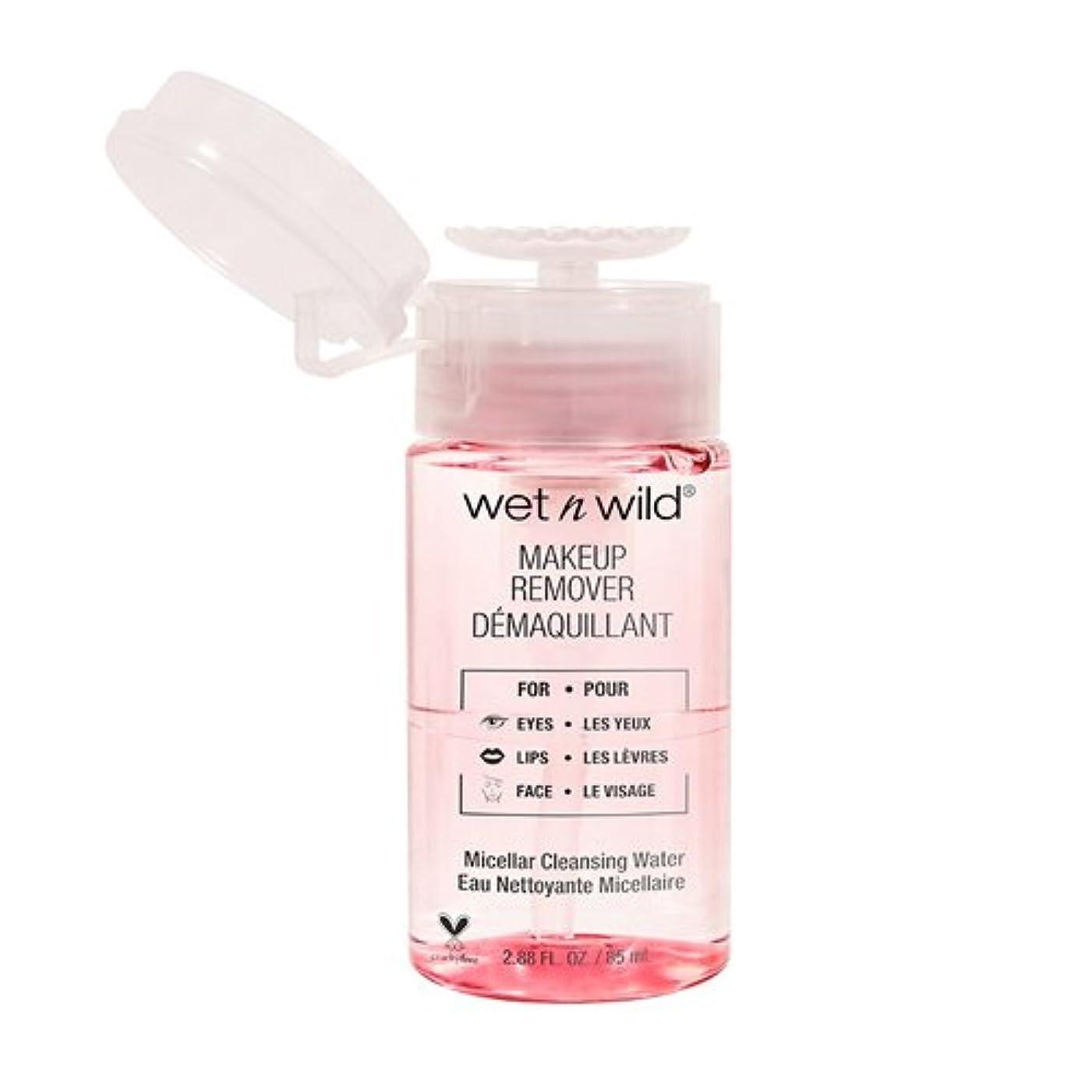 視聴者横たわる焦がす(6 Pack) WET N WILD Makeup Remover -Micellar Cleansing Water (並行輸入品)
