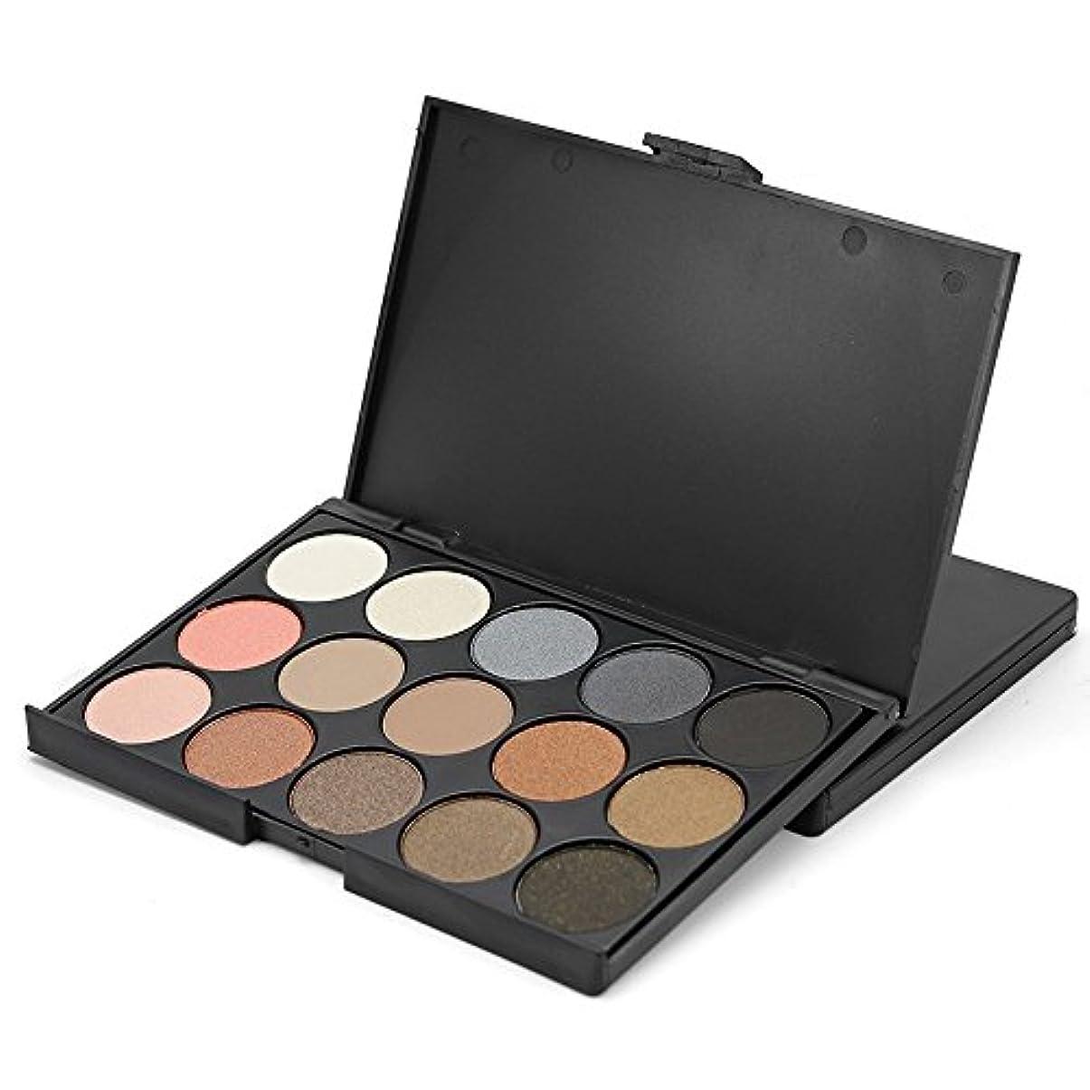 伝説明確な過敏なAkane アイシャドウパレット ファッション 魅力的 暖かい 優雅な 自然 高級 美しい 素敵 綺麗 持ち便利 仕事 日常 Eye Shadow (15色)