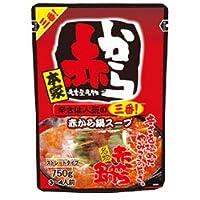 イチビキ ストレートパウチ 赤から鍋スープ3番 750g×12袋入×(2ケース)