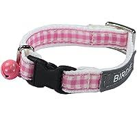 バーディ (BIRDIE) 467 BIRDIE バーディ セーフティバックル仕様猫首輪 CATセシルカラー(反射テープ付) ピンク