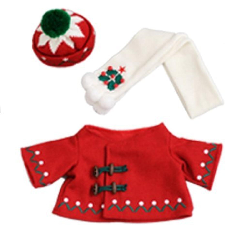 ダッフィー クリスマスコスチュームセット(レッド) ダッフィーのクリスマス2014 【東京ディズニーシー限定】