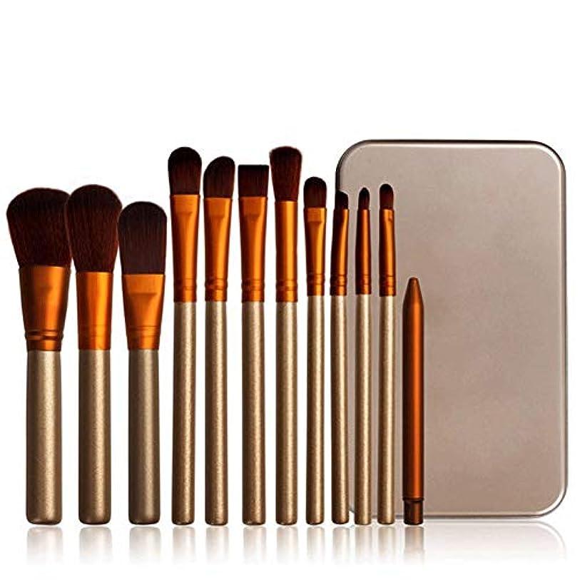 香りロードハウス回復Rabugogo 12個/セットメイクブラシセットフェイス化粧品アイシャドウファンデーションブラッシュブラシ