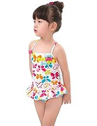 Zolomi 子供水着 女の子 のワンピース 水着 可愛い サイズ 80 90 100 110 120 130 140