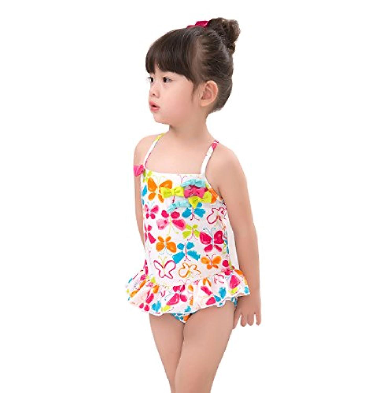 fdfce8dac1450 Zolomi 子供水着 女の子 のワンピース 水着 可愛い サイズ 80 90 100 110 120 130 140