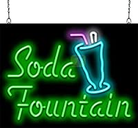 Soda Fountain Neon Sign