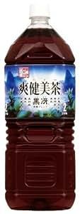 [2CS] コカ・コーラ 爽健美茶黒冴 (2.0L×6本)×2箱