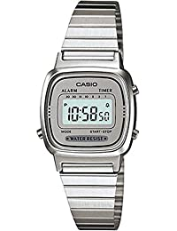 カシオ CASIO レディース 腕時計 デジタル LA670WA-7 シルバー/シルバー 海外モデル [時計] 逆輸入品