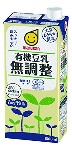マルサン 有機豆乳無調整 1L ×6本