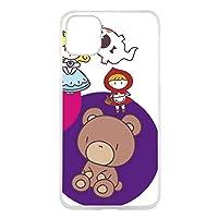 WHITENUTS iPhone11 ケース クリア ハード プリント パターンD (cw-244) スマホケース アイフォンイレブン スリム 薄型 カバー スマホカバー WN-PR3657508