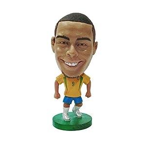 【サッカーフィギュア】ロナウド(ブラジル代表/2002W杯/ホーム) RONALDO(Brazil) Dolls KODOTO