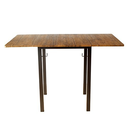 2人用バタフライ 折りたたみ (3パターン) ダイニングテーブル ブラウンパイン