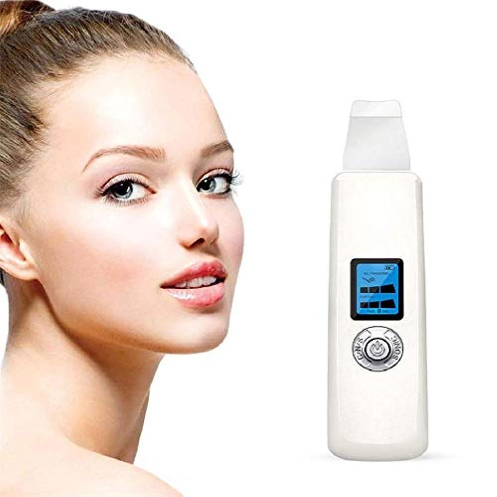 追い越す気分首ハンドヘルド美容機器、美容機器フェイシャルスキンピールダーマブレーション、肌の若返り防止アンチエイジングデバイス肌へら