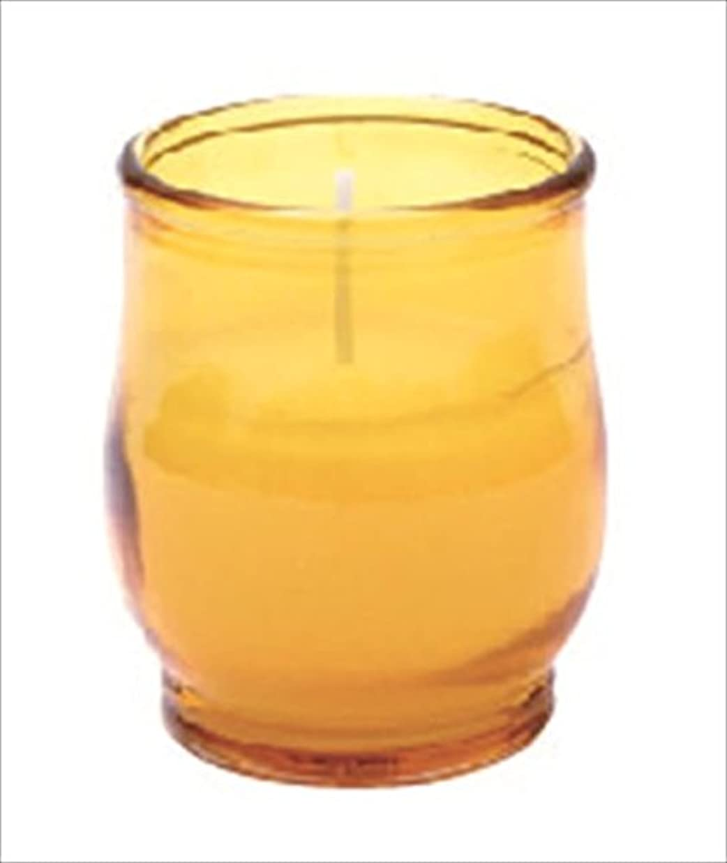 キウイドレス古いkameyama candle(カメヤマキャンドル) ポシェ 「 アンバー 」 キャンドル 68x68x80mm (73020040AM)