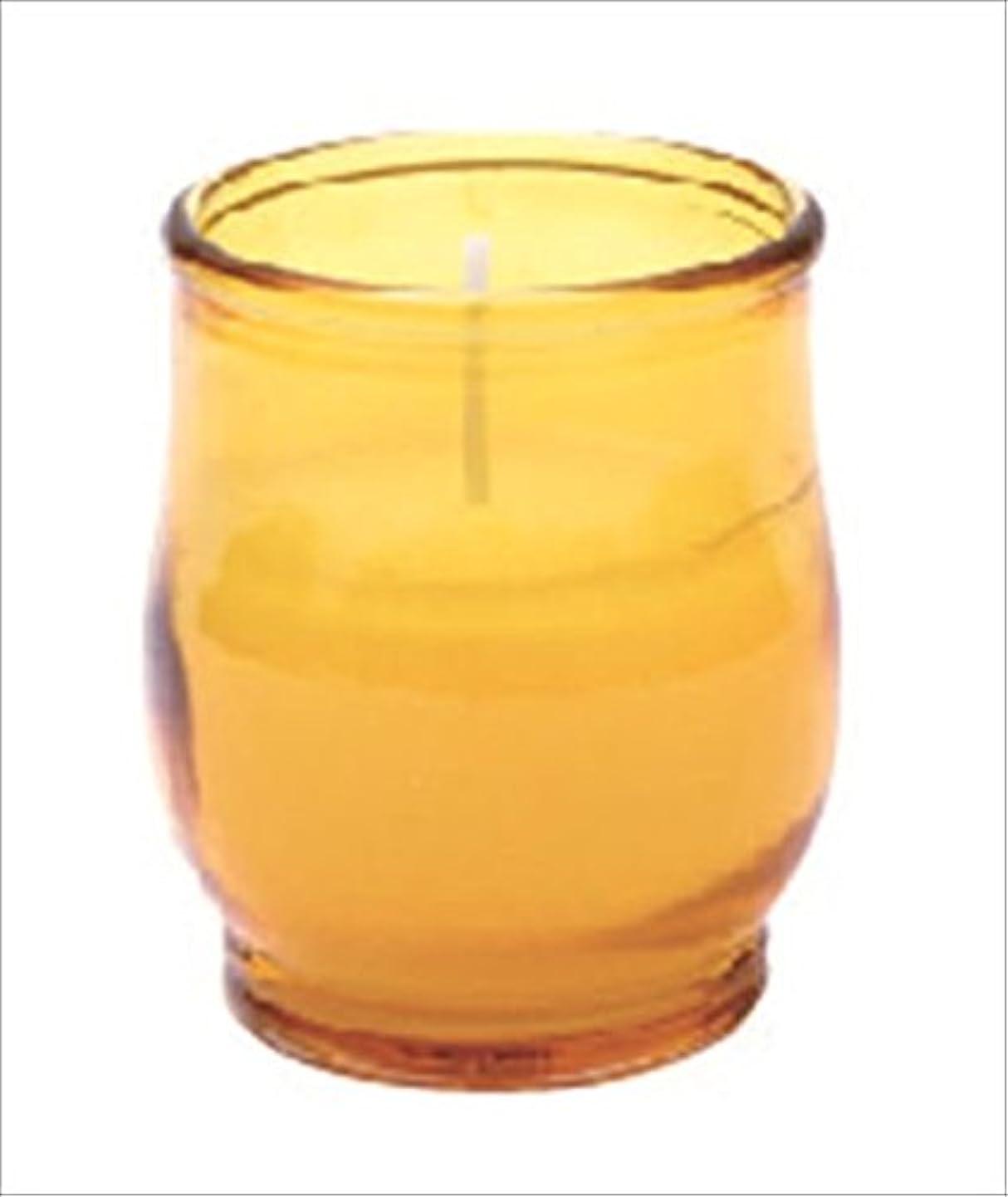 人工オリエンタル囲むkameyama candle(カメヤマキャンドル) ポシェ 「 アンバー 」 キャンドル 68x68x80mm (73020040AM)