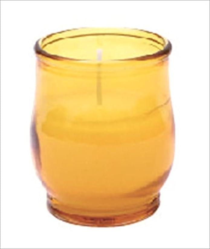 ストライプ小人モルヒネkameyama candle(カメヤマキャンドル) ポシェ 「 アンバー 」 キャンドル 68x68x80mm (73020040AM)