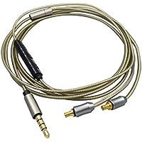 deylayingアップグレードヘッドフォンリモート制御ケーブルコードfor Audio - Technica a2dc ath-ckr100/ ckr90/ cks1100/ ls400/ ls300/ ls200/ ls70/ ls50/ e40/ e50/ e70/ ls200