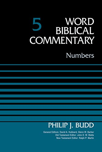 Numbers, Volume 5 (Word Biblical Commentary)